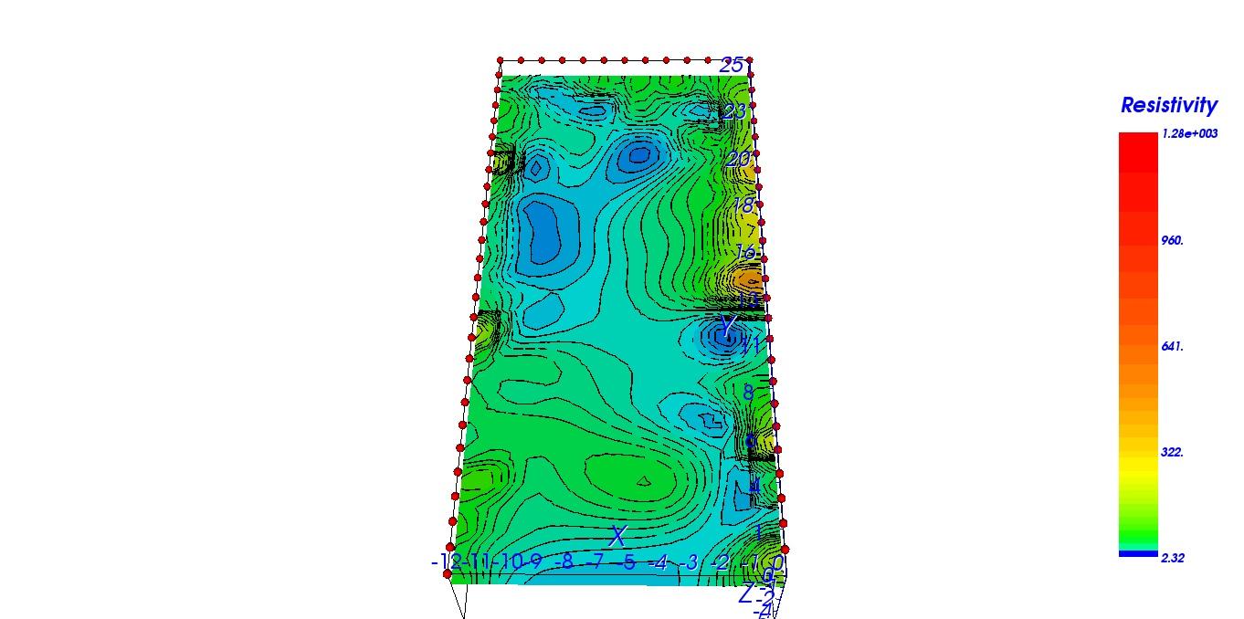 3D Map At -100